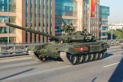 Tanque de batalla principal ruso T90 Foto de archivo libre de regalías
