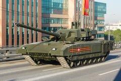 Tanque de batalla principal ruso de T14 Armata Fotos de archivo libres de regalías