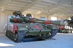 Tanque de batalla principal T-64BV Foto de archivo libre de regalías
