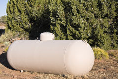Tanque de gás Fotografia de Stock