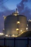 Tanque de gás grande Foto de Stock