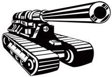 Tanque de guerra Imagens de Stock Royalty Free