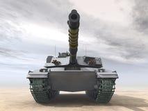 Tanque de guerra britânico ilustração stock