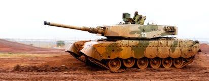 Tanque de guerra de Olifant MKII fotografia de stock