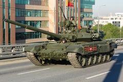 Tanque de guerra do russo T90 Foto de Stock Royalty Free