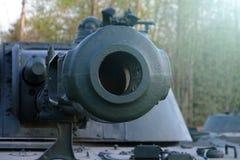 Tanque de guerra soviético Foi criado no princípios dos anos 60 no departamento Morozov do projeto de Kharkov armas do tanque do  fotografia de stock