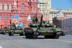 Tanque de guerra T-90 Imagens de Stock