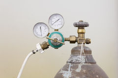 Tanque de oxigênio Imagens de Stock Royalty Free
