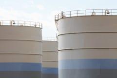 Tanque de petróleo Imagem de Stock