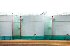 Tanque de petróleo Foto de Stock Royalty Free