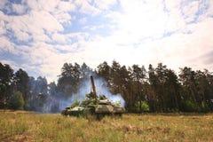 Tanque de T-64BM Bulat Foto de Stock