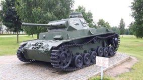Tanque desde a segunda guerra mundial foto de stock royalty free