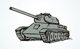 tanque Desenho do vetor ilustração do vetor