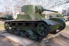 Tanque do soviete T-26 Fotografia de Stock