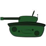 Tanque dos desenhos animados Foto de Stock