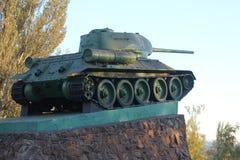 Tanque histórico do monumento Imagem de Stock Royalty Free