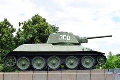 Tanque histórico do russo fotografia de stock
