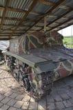Tanque M15/42 da segunda guerra mundial Imagem de Stock
