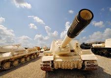 Tanque militar Imagem de Stock Royalty Free