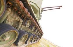 Tanque militar abandonado Fotos de Stock Royalty Free