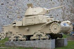 Tanque militar velho Imagens de Stock Royalty Free