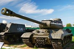 Tanque pesado soviético IS-2 da segunda guerra mundial Fotografia de Stock Royalty Free