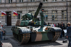 Tanque polonês da pinta 91 Imagens de Stock Royalty Free
