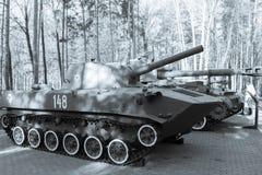 Tanque preto e branco imagens de stock