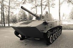 Tanque preto e branco foto de stock