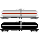 Tanque Railway Imagem de Stock