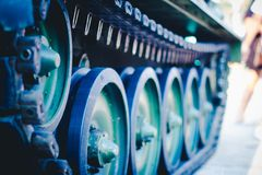 Tanque-roda foto de stock