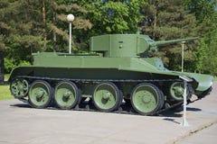 Tanque soviético BT-5 Fotografia de Stock Royalty Free