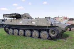 Tanque soviético das épocas da segunda guerra mundial Fotografia de Stock