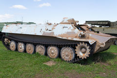 Tanque soviético das épocas da segunda guerra mundial Fotos de Stock Royalty Free