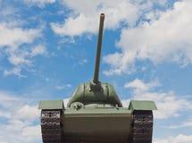 Tanque soviético T-34 em Minsk Fotografia de Stock Royalty Free