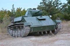 Tanque soviético do período da segunda guerra de mundo Imagem de Stock