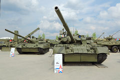 Tanque T-80 Imagens de Stock Royalty Free