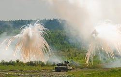 Tanque T-80 Fotografia de Stock