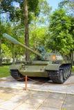 Tanque T-54 vietnamiano no palácio da independência Imagens de Stock
