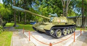 Tanque T-54 vietnamiano no palácio da independência Imagem de Stock Royalty Free