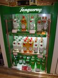 Tanqueray wine bar in Dubai airport stock images