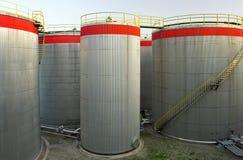 tanques 0il Fotos de Stock