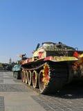 Tanques coloridos Imagem de Stock