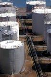 Tanques de armazenamento do combustível Fotos de Stock Royalty Free