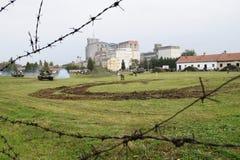 tanques de exército no campo Imagem de Stock