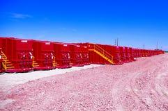 Tanques de Frack Fotografia de Stock
