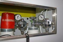 Tanques de oxigênio médicos Imagem de Stock