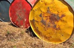 Tanques de petróleo Fotos de Stock