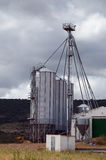 Tanques do silo Imagem de Stock Royalty Free