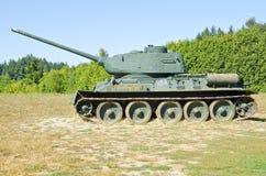 Tanques soviéticos obsoletos Imagens de Stock Royalty Free